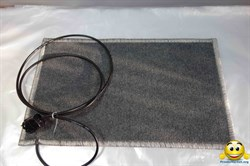 Коврик с подогревом 55х30 (тонкий) 25ВТ - фото 4581
