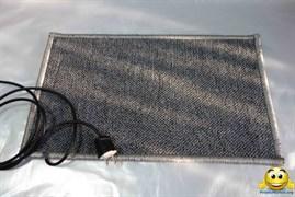 Коврик с подогревом 55х75 (плотный) 75Вт