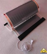 Электрический коврик-сушилка 100х125 (обогреватель для птенцов, обогреватель для цветов, обогрев грунта) 250Вт