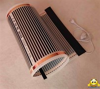 Электрический коврик-сушилка 80х325 (обогреватель для цыплят, крольчат, подогрев земли в теплице, подогрев инкубатора, птицы) 520Вт