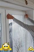 """Теплосберегающая пленка для окон """"Третье стекло"""" на метраж (ширина 1,2 метра)"""